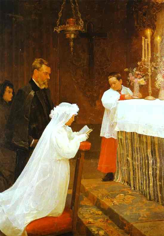 Pablo Picasso - First Communion 1895 - 1896